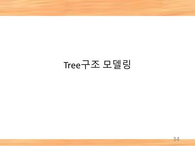 Tree구조 모델링 34