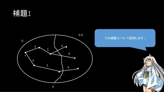 補題1 では補題1について説明します。 U s V V-U 1 3 1 3 4 1 3