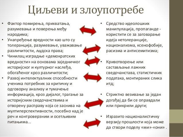 улога образовања у процесу помирења Slide 3