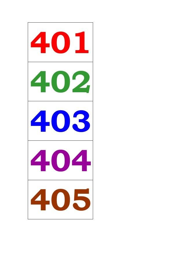 401 402 403 404 405