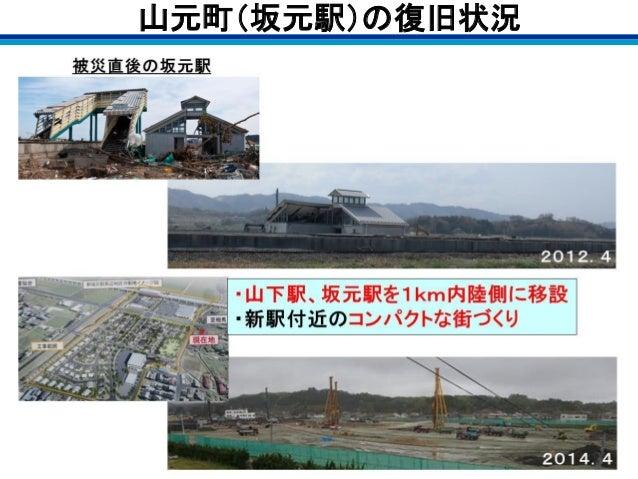 山元町(坂元駅)の復旧状況