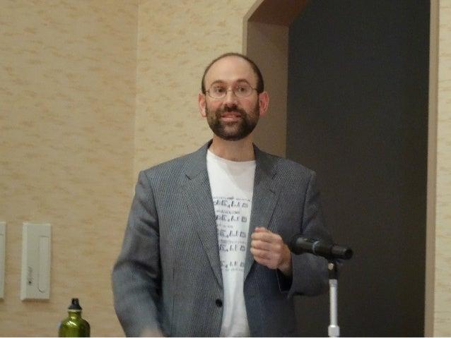 基調講演 木達 一仁氏(株式会社ミツエーリンクス)   「Webアクセシビリティのこれまでとこれから」