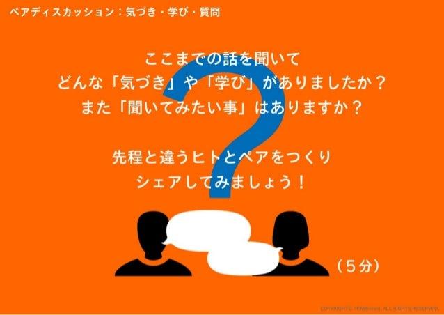 「ハイレベルメンバーを共創させたら何が起きるか?実験」結果報告会 スライド