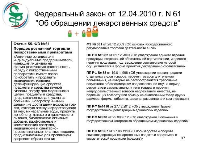 Федеральный закон о техническом регулировании от 27.12.2012