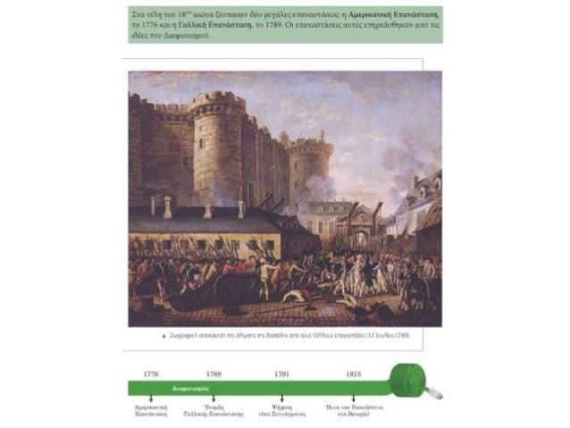Τετράδιο Εργασιών, σ. 9 Αμερικανική Επανάσταση Γαλλική Επανάσταση Διαφωτισμού ανεξαρτησία Ηνωμένες Πολιτείες Αμερικής Διακ...