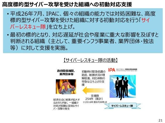 2016年9月9日開催 Security Vision 2016 名古屋 伊東氏 講演資料