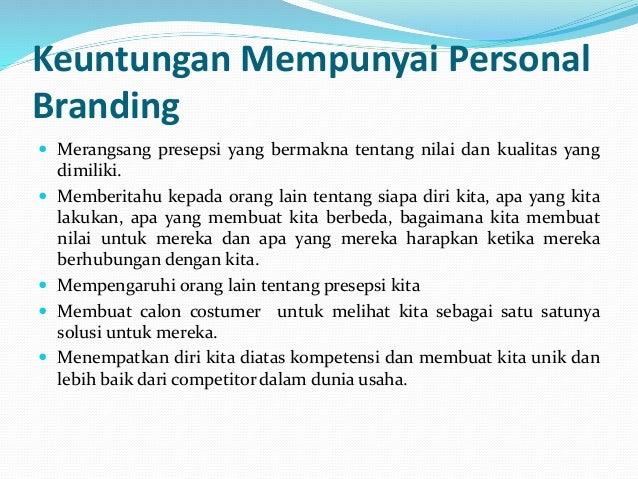 Contoh Personal Branding