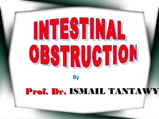 By Prof. Dr.Prof. Dr. ISMAIL TANTAWYISMAIL TANTAWY