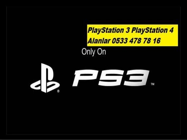 PlayStation 3 PlayStation 4 Alanlar 0533 478 78 16
