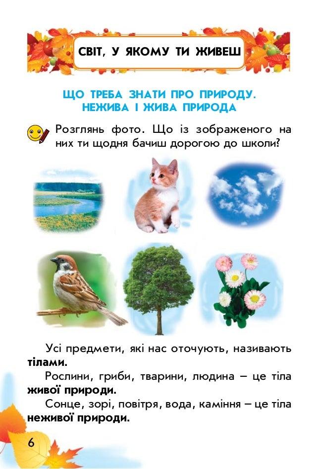 Картинки з живою природою