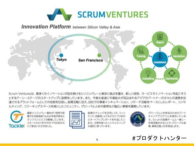 About Scrum Ventures 6 #プロダクトハンター