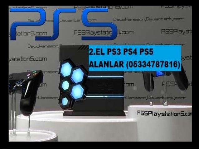 2.EL PS3 PS4 PS5 ALANLAR (05334787816)