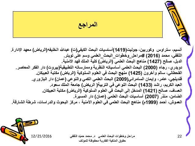 12/21/2016 22 آنسيم،ستراوسوكوربين،جوليت(1419)أساسياتالبحثالكيفي(ت)عبدهللاالخليفه(الرياض)معهداإلدا...