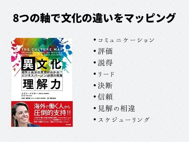 たとえ日本人同士でも必要な異文化理解力 Slide 2