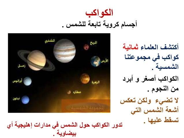 النظام الشمسي رابع