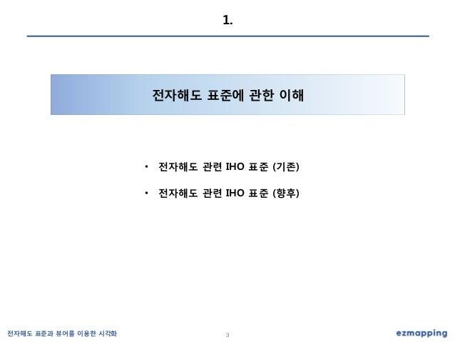 전자해도 표준과 뷰어 (최규성) Slide 3