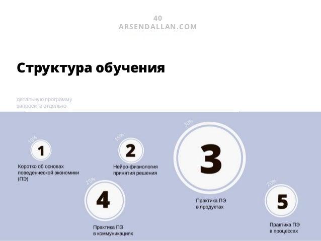 43 ARSENDALLAN.COM УСЛУГА #4 Оптимизация орг. структуры Часто корп. структура представлена в крайностях: 1- маркетинговые ...