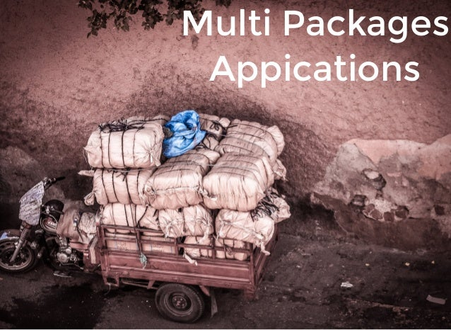 Multi Packages Appications