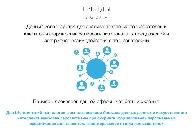 Данные используются для анализа поведения пользователей и клиентов и формирования персонализированных предложений и алгори...