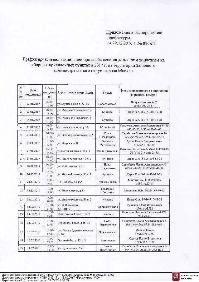 Прививочная карта 063 у Ново-Переделкино Анализ крови Славянский бульвар