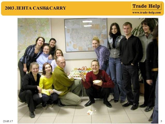 www.trade-help.com 23.05.17 5 2003 ЛЕНТА CASH&CARRY