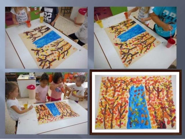 """Winter Village"" (1969)του ζωγράφου RADI NEDELCHEN Αφού επεξεργαστήκαμε τον πίνακα, κάναμε την αναπαραγωγή του με κολάζ (σ..."