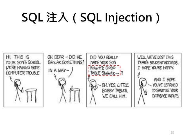 SQL 注入(SQL Injection) 18