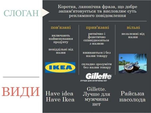 Слоган - Катерина Сопова Slide 2