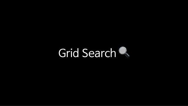 Grid Search 🔍