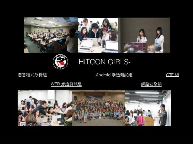 HITCON CTF Final HITCON CTF 10 * HITCON CTF