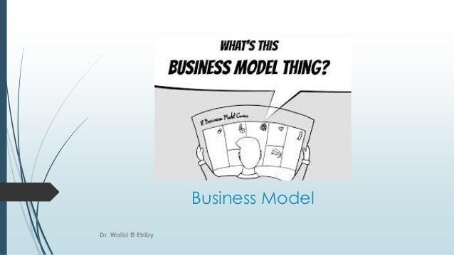 Business Model Dr. Walid El Etriby