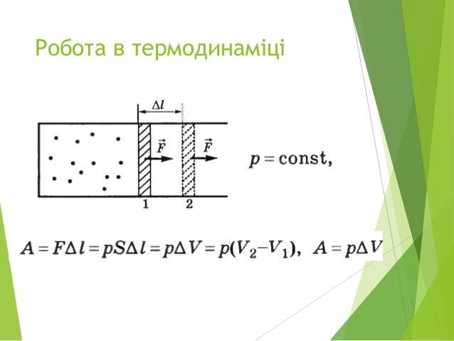 Робота в термодинаміці Slide 2