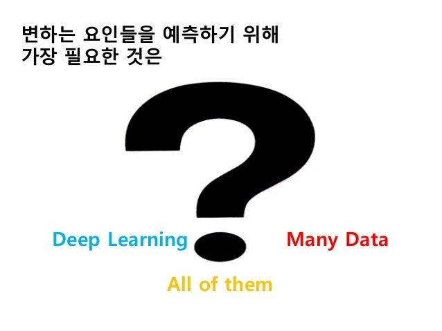 데이터의 관점으로 바라본 의료 딥러닝