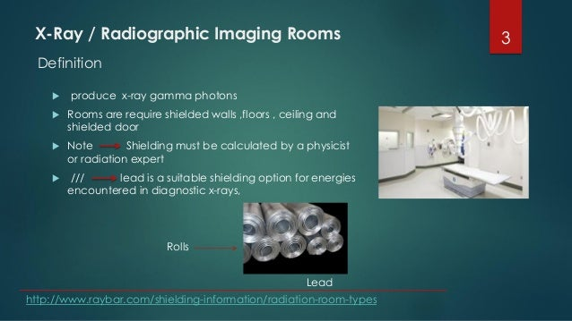 X-Ray / Radiographic Imaging Rooms