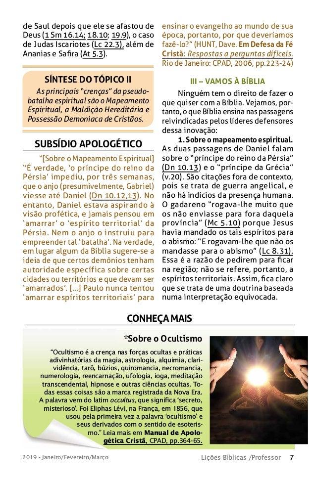 revista lies bblicas cpad