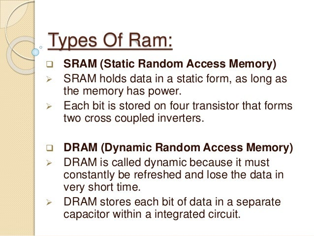 Static and dynamic memory ppt video online download.