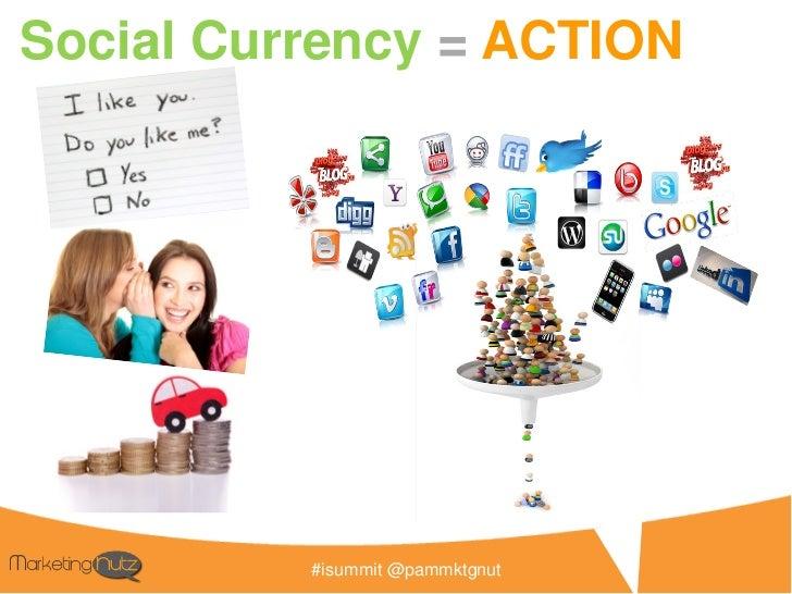 Social media                           Businessplugsinto yourBusiness               #isummit @pammktgnut
