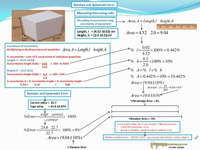 systematic and random error pdf