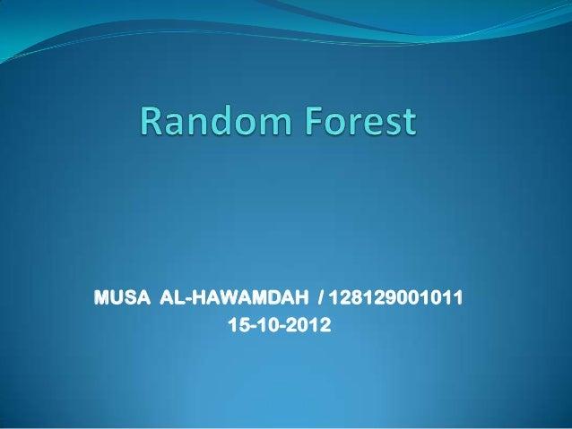 MUSA AL-HAWAMDAH / 128129001011          15-10-2012