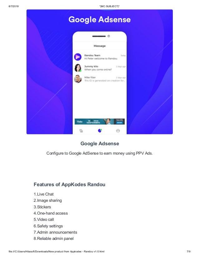 Random video chat app script like azar-appkodes randou