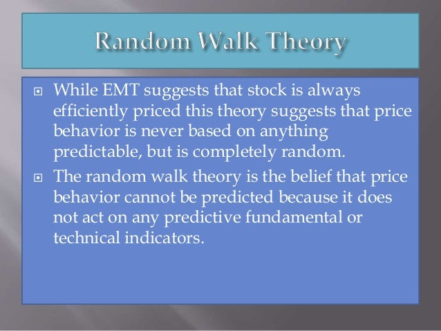 essay of random walk Random walk against a time trend will result in the inappropriate inference that   durlauf, s n (1986): essays in econometrics and macroeconomics,.