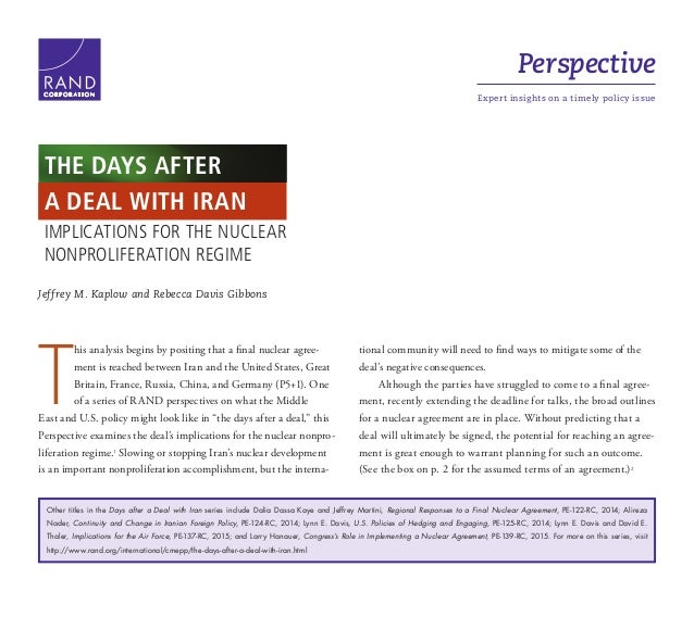 Perspective Expert insights on a timely policy issueC O R P O R A T I O N Jeffrey M. Kaplow and Rebecca Davis Gibbons T hi...