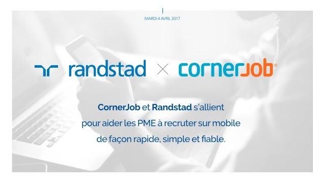 Le service intérim Randstad & CornerJob
