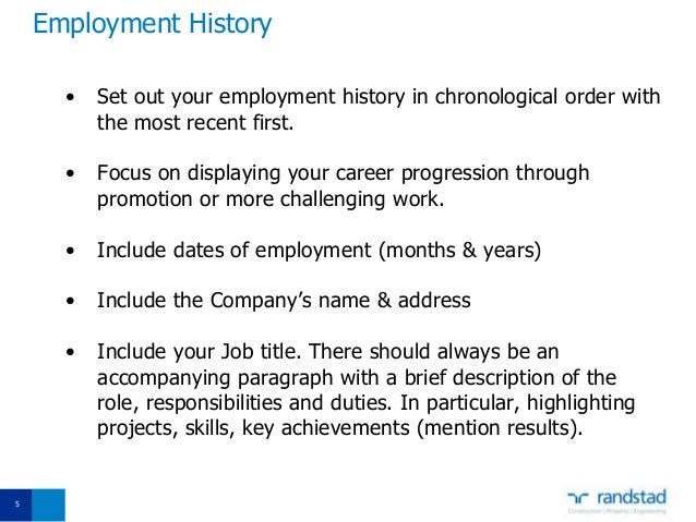 SlideShare  How To Craft A Resume