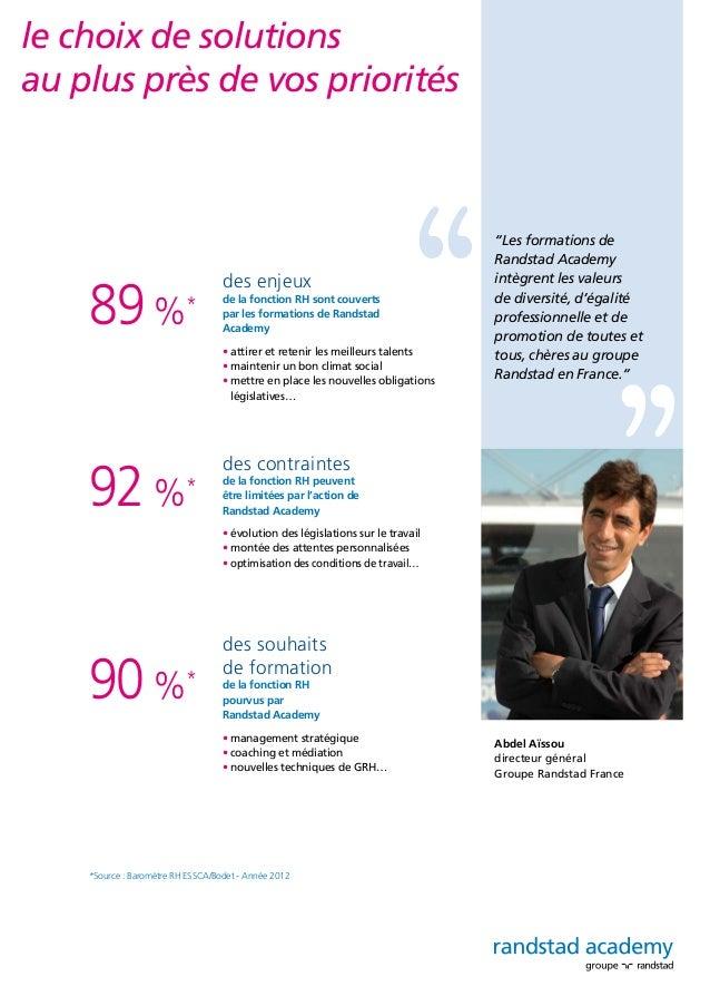 des formations dédiées à la performance structurées autour de 4 domaines d'expertise • le recrutement • l'intégration • l'...