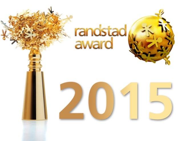 Randstad Award Sweden 2015 Slide 1