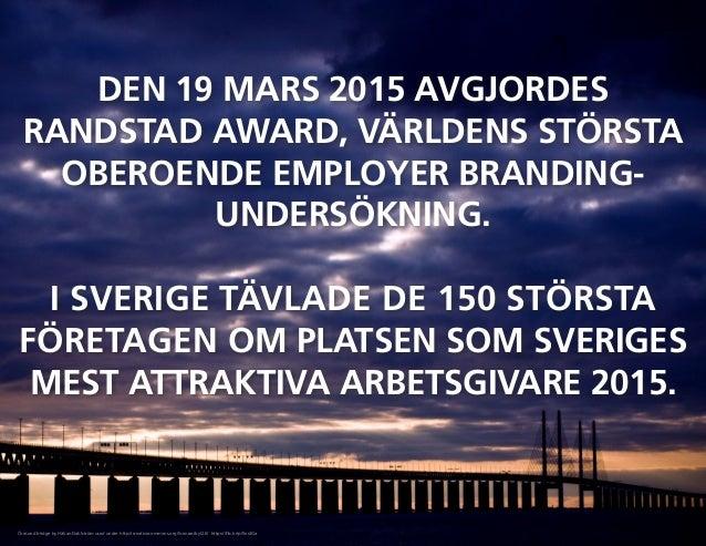 Randstad award sweden 2015 winner Slide 2