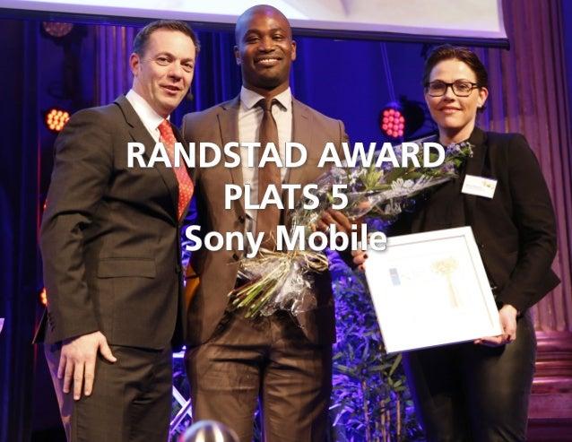 Randstad award sweden 2015 winner Slide 3