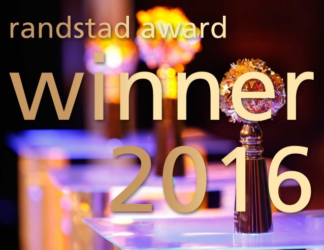 2016 randstad award winner