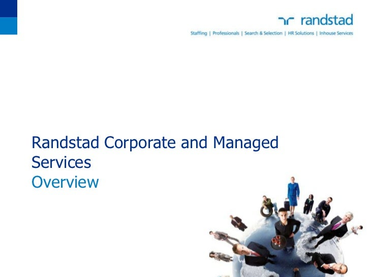 Randstad Corporate and ManagedServicesOverview